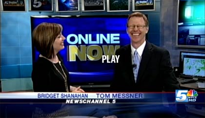 WPTZ's Bridget Shanahan and Tom Messner talk about 'Do The Funky Sidewalk (Snow Dragon)'
